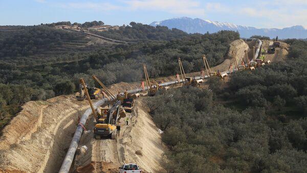 Costruzione del Gasdotto Trans-Adriatico - Sputnik Italia
