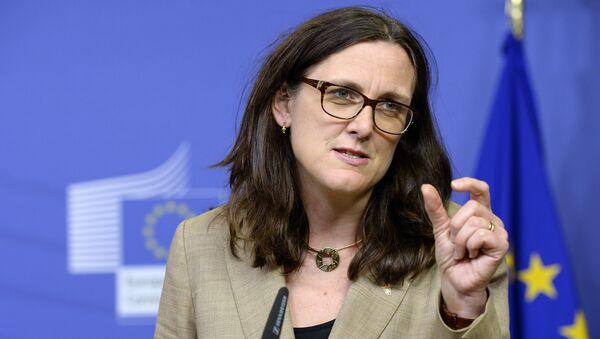 Commissario europeo del commercio, Cecilia Malmström - Sputnik Italia