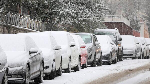 Ankara sotto la neve - Sputnik Italia