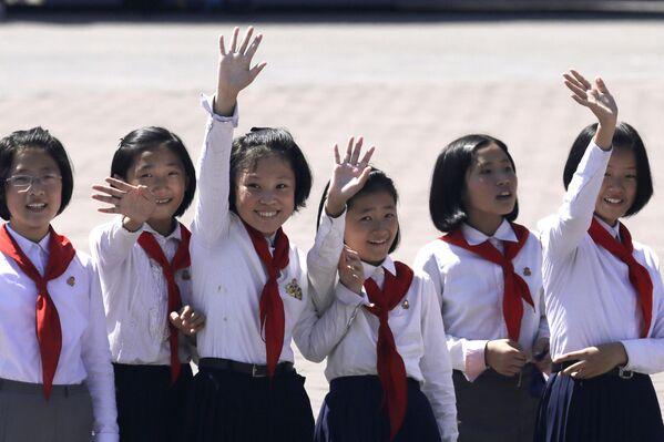 La parata militare per i 70 anni della Corea del Nord - Sputnik Italia
