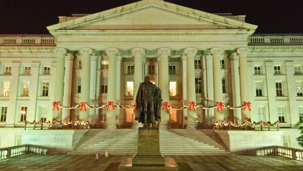 Il dipartimento del Tesoro degli Stati Uniti, Washington D.C. - Sputnik Italia