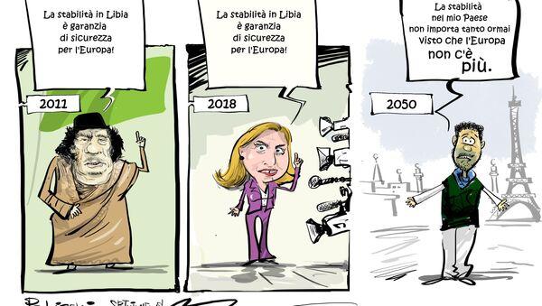Mogherini: la stabilità in Libia è la chiave della sicurezza in Europa - Sputnik Italia