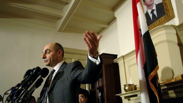 Il diplomatico siriano di stanza in Cina Imad Moustapha - Sputnik Italia