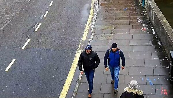 Alexander Petrov and Ruslan Boshirov, who were formally accused of attempting to murder former Russian spy Sergei Skripal and his daughter Yulia in Salisbury, are seen on CCTV on Fisherton Road in Salisbury on March 4, 2018 in an image handed out by the Metropolitan Police in London, Britain September 5, 2018 - Sputnik Italia