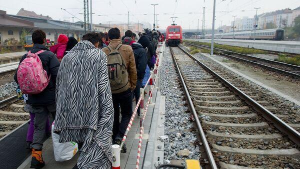 Germania, migranti - Sputnik Italia
