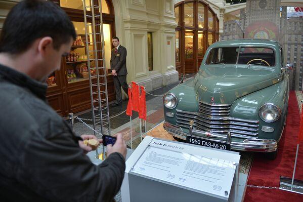 Pobeda - l'auto simbolo della Soviet-Life - Sputnik Italia