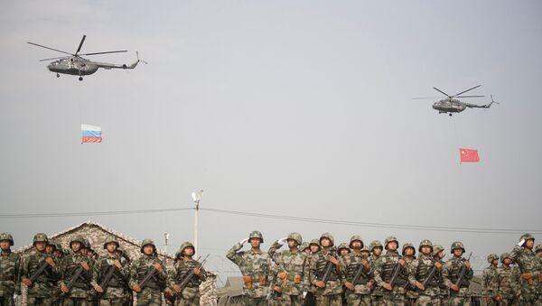 Last stage of the previous year's SCO anti-terrorist exercise Peace Mission - 2013. - Sputnik Italia