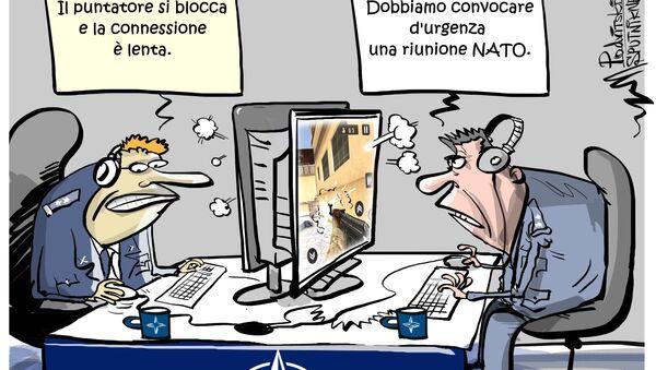 La NATO vuole rispondere a attacchi informatici provenienti dalla Russia - Sputnik Italia