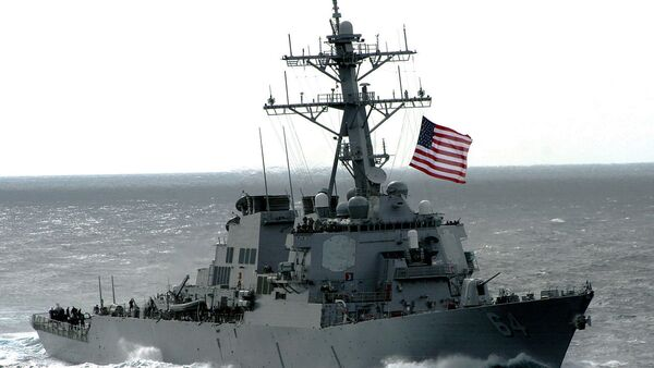 The US Navy (USN) Arleigh Burke Class Guided Missile Destroyer USS CARNEY (DDG 64) - Sputnik Italia