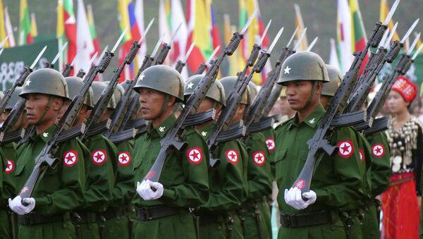 Soldati del Myanmar - Sputnik Italia