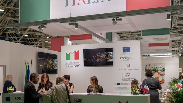 Il padiglione italiano a World Food Expo di Mosca - Sputnik Italia