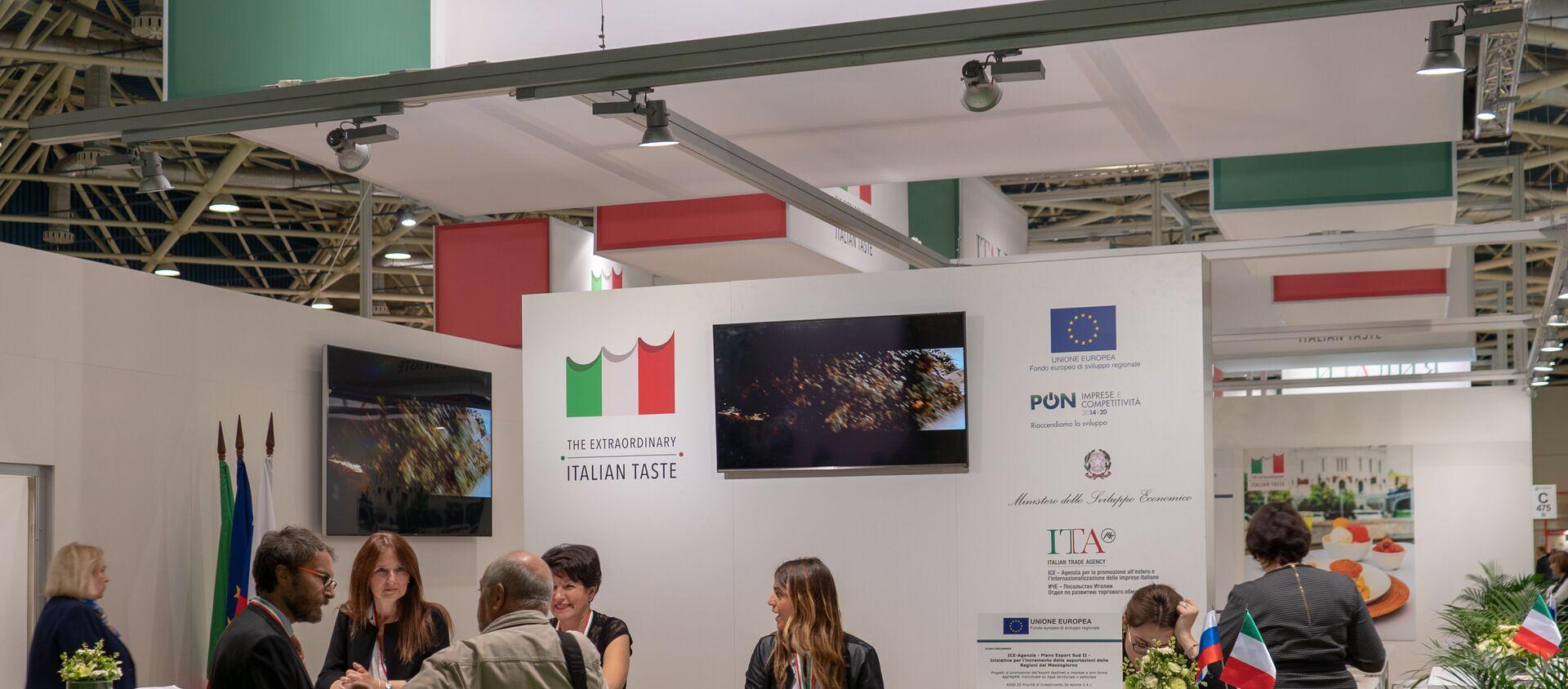 Il padiglione italiano a World Food Expo  - Sputnik Italia, 1920, 10.04.2021