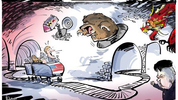 Il Labirinto della Paura alla statunitense - Sputnik Italia