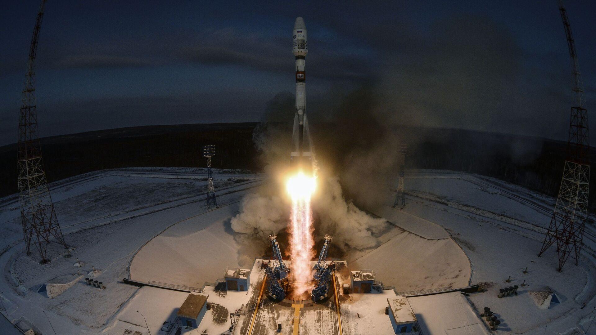 Il lancio del Soyuz-2.1b dal cosmodromo Vostochny - Sputnik Italia, 1920, 29.05.2021