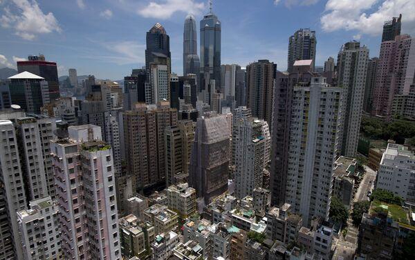 I grattacieli di Hong Kong. - Sputnik Italia
