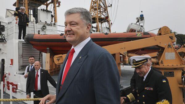 Украинский президент Петр Порошенко во время выступления на Мюнхенской конференции по безопасности - Sputnik Italia