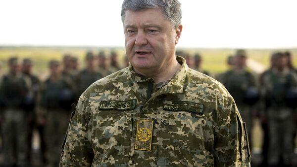 Il presidente ucraino Petro Poroshenko - Sputnik Italia