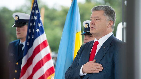 Il presidente ucraino Petr Poroshenko - Sputnik Italia