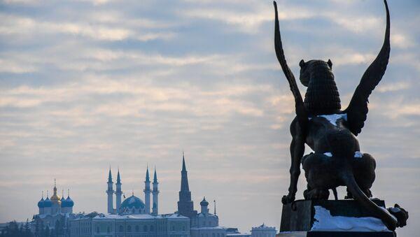 Vista sul Cremlino di Kazan - Tatarstan - Sputnik Italia