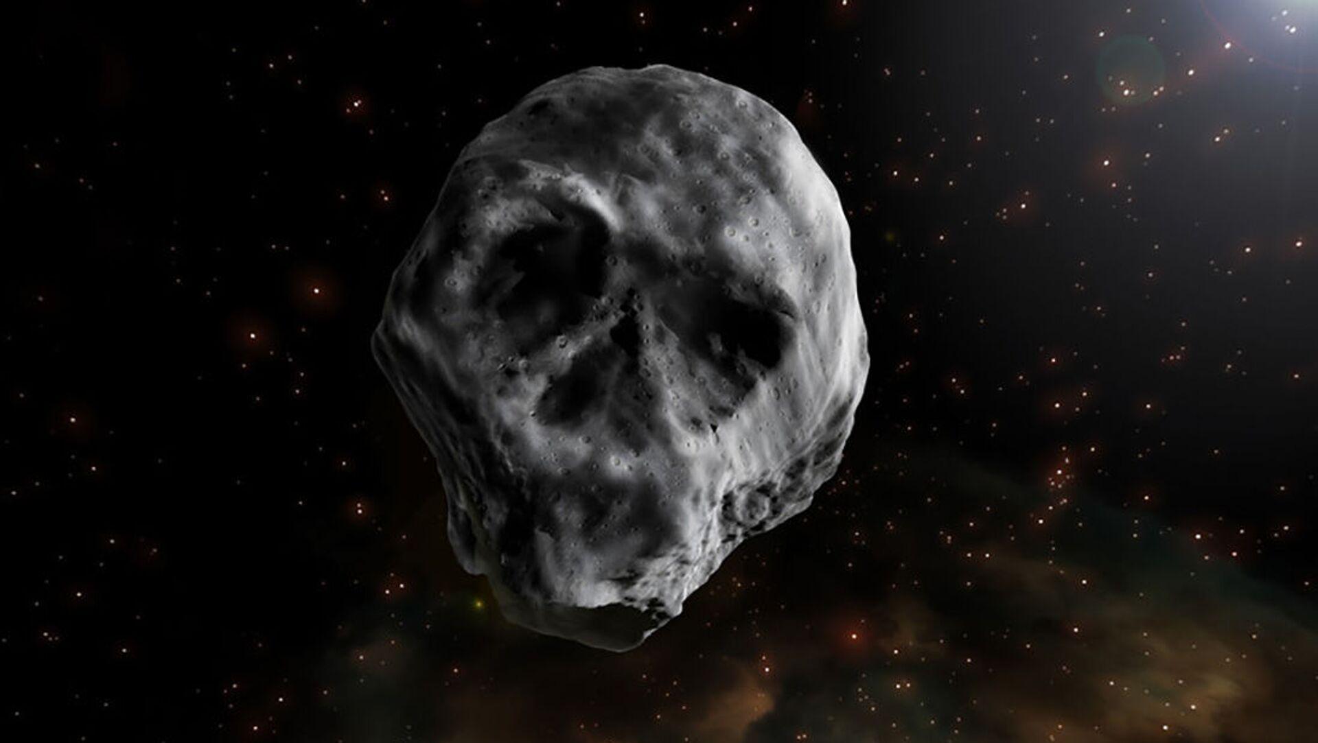 L'asteroide di Halloween a forma di teschio - Sputnik Italia, 1920, 16.03.2021