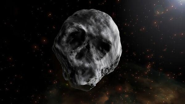 L'asteroide di Halloween a forma di teschio - Sputnik Italia