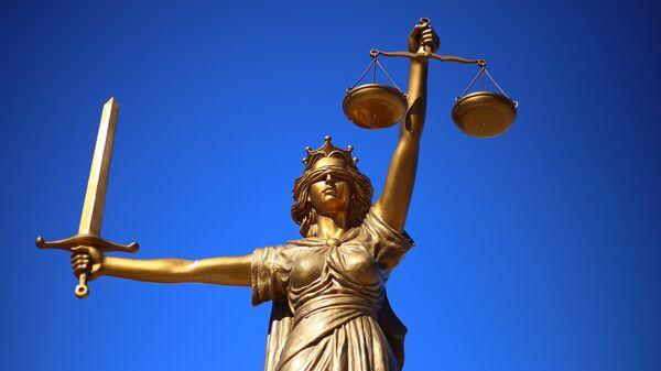 Statua raffigurante la giustizia - Sputnik Italia