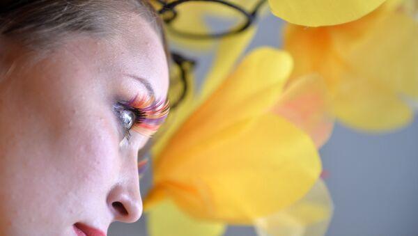 Partecipante al concorso 'Miss Vesna' (primavera) - MARI EL - Sputnik Italia