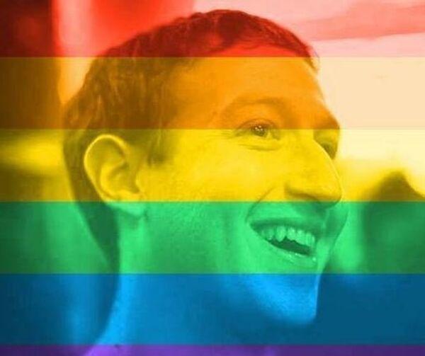 Il fondatore di facebook, Mark Zukerberg - Sputnik Italia