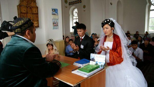 Un matrimonio in Kazakistan - Sputnik Italia