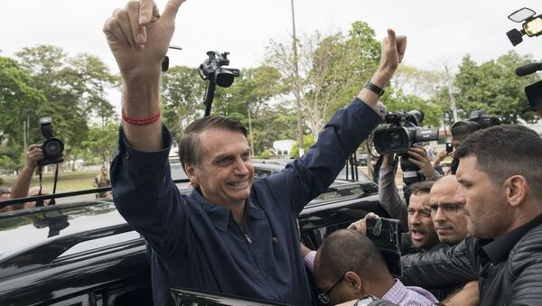 Jair Bolsonaro, candidato presidenziale brasiliano - Sputnik Italia