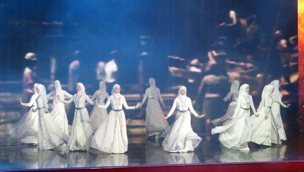 Groznyj, spettacolo 200 anni - Sputnik Italia