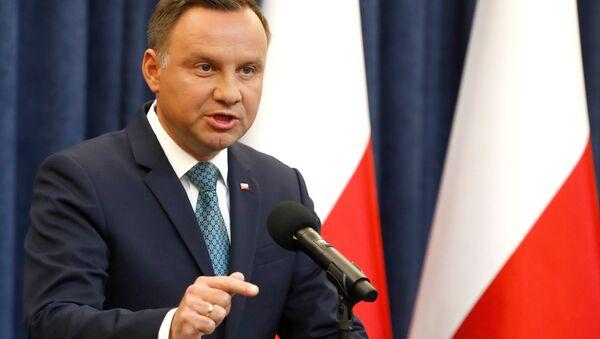 Il presidente della Polonia Andrzej Duda - Sputnik Italia