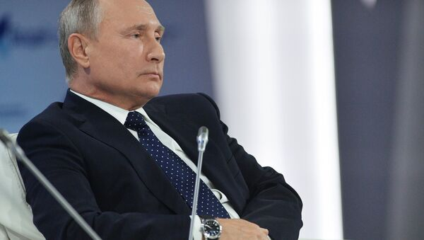 Putin al Valdai Discussion Club - Sputnik Italia