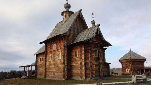 Una chiesa di legno - Sputnik Italia