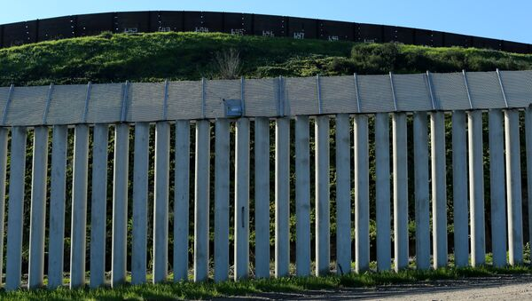 The border wall separating the United States and Mexico is pictured in San Ysidro, California. - Sputnik Italia