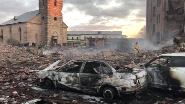 Esplosione in stabilimento pirotecnico vicino San Pietroburgo - Sputnik Italia