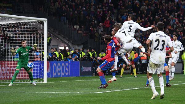 Soccer. Champions League. A match of CSKA - Real Madrid - Sputnik Italia