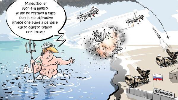 Posei-drone - Sputnik Italia