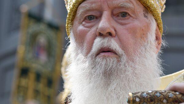 Глава Украинской православной церкви Киевского патриархата патриарх Филарет - Sputnik Italia