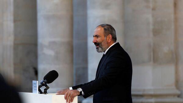 Nikol Pashinián, primo ministro dell'Armenia - Sputnik Italia