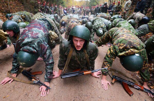 Esercitazioni delle squadre operative in Bielorussia. - Sputnik Italia