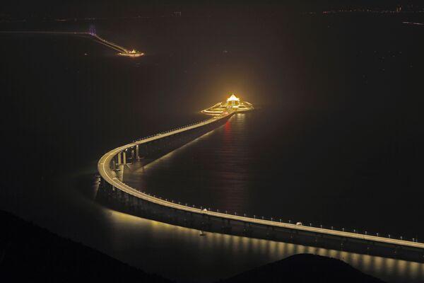Il ponte Hong Kong–Zhuhai–Macao. - Sputnik Italia