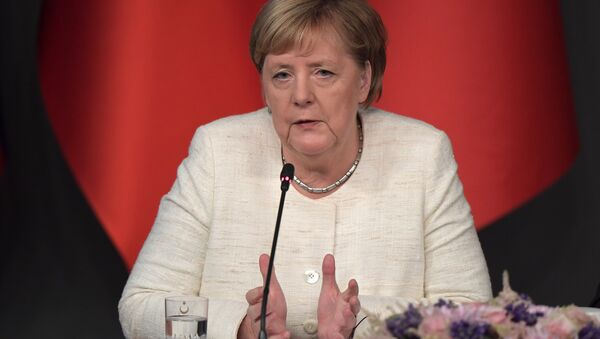 Angela Merkel - Sputnik Italia