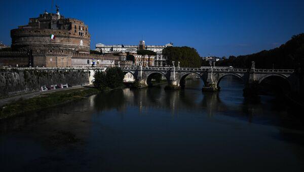 Il Castel Sant'Angelo, Roma, Italia - Sputnik Italia