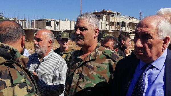 Rifugiati palestinesi tornano al Sud della Siria - Sputnik Italia