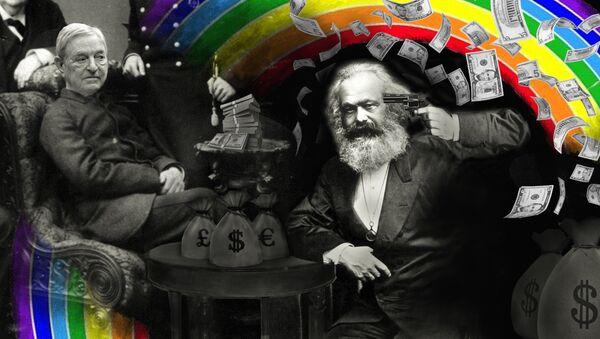 Il suicidio di Karl Marx - olio su tela - Sputnik Italia