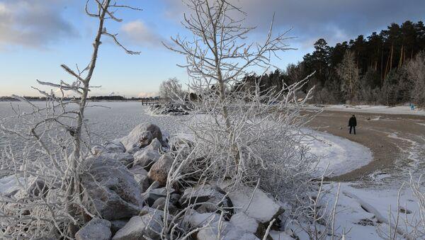 L'inverno arriva a Novosibirsk - Sputnik Italia