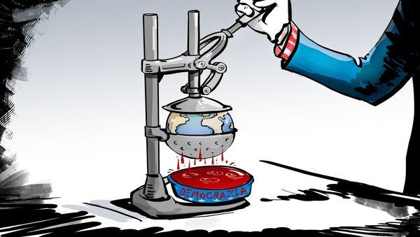 Democrazia all'americana - Sputnik Italia