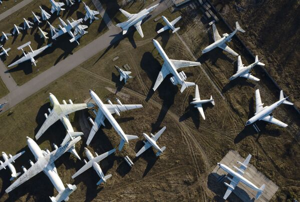 L'esposizione del Museo dell'aeronautica militare russa a Monino alle porte di Mosca - Sputnik Italia