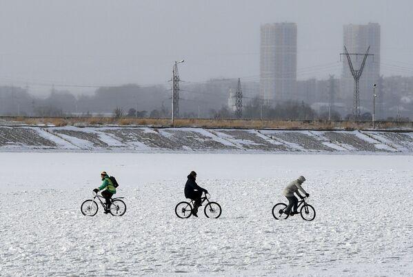 L'inverno è già arrivato a Novosibirsk - Sputnik Italia